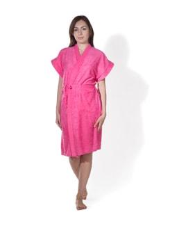 Classic Cotton Bath Gown - PRIVATELIVES 9819
