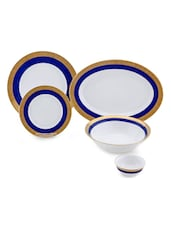 Double Indulgence 21 Pcs Dinner Set - LAZZARO