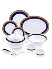 Double Indulgence 64 Pcs Dinner Set - LAZZARO