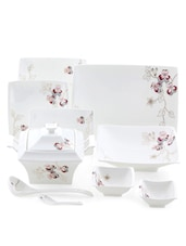 Cosmopolition 64 Pcs Dinner Set - LAZZARO