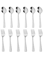 Regency Baby Spoon And Baby Fork 12 Pcs Set - MOSAIC