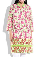 Multicolor Cotton Printed Kurta - By