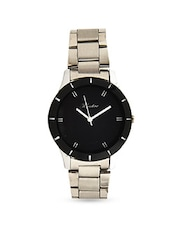 Black Chrome Watch -  online shopping for watches