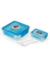 AIR TIGHT & LEAK PROOF ROUND CONTAINER LUNCH BOX 825 Ml (MULTI COLOUR) - By