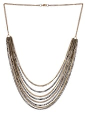 Multiple Metal Chain Necklace - Mesmerizink