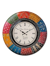 RoyalsCart Boistrous Colors Analog Wall Clock ( Height 12 ) -  online shopping for Wall Clocks