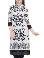 white Rayon kurta -  online shopping for kurtas