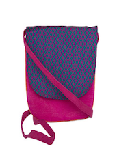 Classy Pink Sling Bag - The Kala Shop