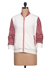 White And Pink Printed Top - CHERYMOYA