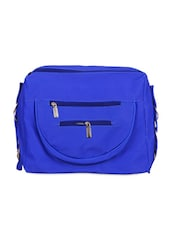 Royal Blue Travel Sling Bag With Detachable Strap - KaryB