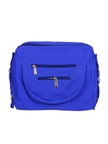 Royal Blue Travel Sling Bag With Detachable Strap - KaryB