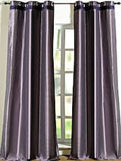 Purple Polyester Door Curtain - Deco Essential