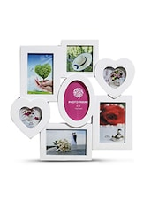 WHITE  ACRYLIC PHOTO FRAMES - By