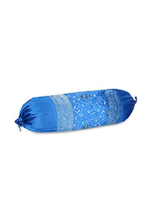 blue polysilk pillows & insert