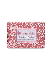 Red Handmade Natural Soap - By