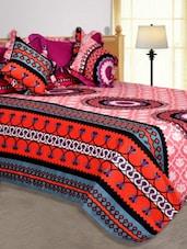 Multi Colored Printed Cotton Blend Bed In A Bag - Salona Bichona