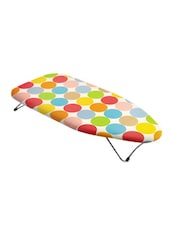 Mini Table Top Ironing Board  In Polka Dots Print available at Limeroad for Rs.950