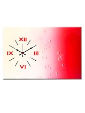 Dual Toned Analog Wall Clock - Design O Vista