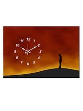 Multicoloured Scenery Wall Clock - Design O Vista - 996237