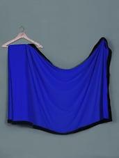 Royal Blue Georgette Saree - Aarohii