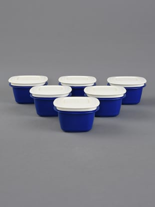 Blue Storage Containers Combo Set Of 6