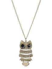 Ancient Owl Pendant Necklace - ESmartdeals
