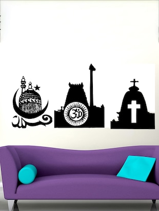 All Religion Wall Decal