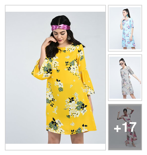 942ca2f6 Buy yellow colour anarkali dress for ladies in India @ Limeroad