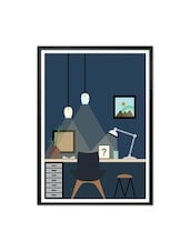 Home Study Room Art Decor Gift For Friends And Children Framed Poster - Lab No. 4 - The Quotography Department