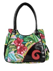 Multi-colored Canvas Handbag - By - 10008241