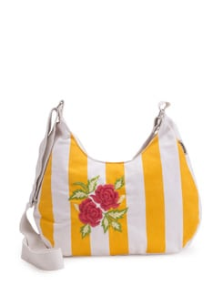 Yellow And White Sling - Pick Pocket