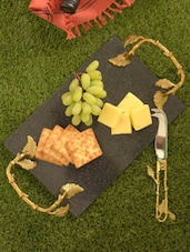 Branch Style Cheese Platter & Knife - Sage Koncpt