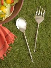 Serving Fork & Spoon Set - Sage Koncpt