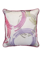 Multicolor Printed Square Cushion Covers (Set Of 5) - Desi Connection