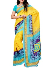 Casual Printed Georgette Saree - Ambaji