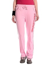 Baby Pink Cotton Jogging Trackpant - TAB91