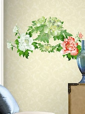 Decals Arts Most Beautiful Flower Bloom Wall Sticker - By