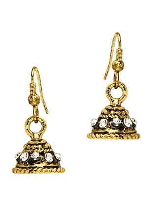 gold sterlinggold earring