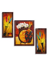 Ray Decors Framed Reprint Modern Wall Art Paintings-SET503 - By