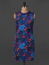 Sleeveless Floral Print Dress - Bella Rosa