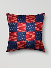 Blue Orissa Cotton Set Of 5 Cushion Covers - By