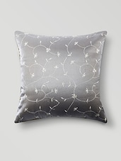 White Poly Cotton Set Of 5 Cushion Covers - By