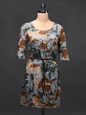 Multicolored Georgette Dress - TREND SHOP