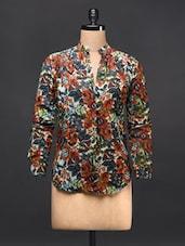Multicolored Floral Shirt - TREND SHOP