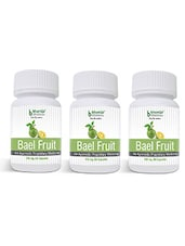 Bael Fruit Capsules 60's - Dysentery & Diarrhea, Colitis, Irritable Bowel Syndrome (Pack Of Three) - By