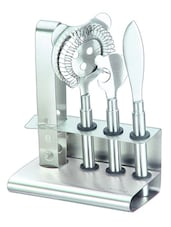 Stainless Steel Bar Tool Set - Silver Queen