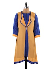 Quarter Sleeves Kurta With Jacket - LifenYou