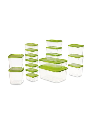 Polka Container Set of 17 Green 6.5 litres