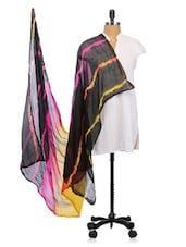 Silk Leharia Dupatta - Dupatta Bazaar