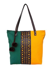 green pu regular tote -  online shopping for Totes